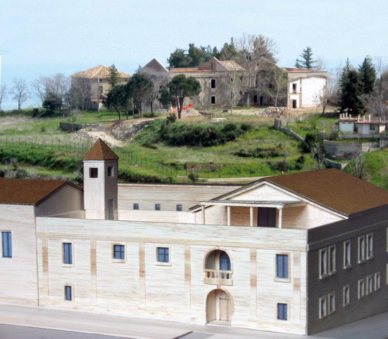 Plastico del nuovo Monastero delle Monache Agostiniane di Rossano